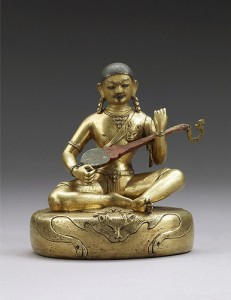 Drukpa Kunley statue from the Rubin Museum of Art, New York