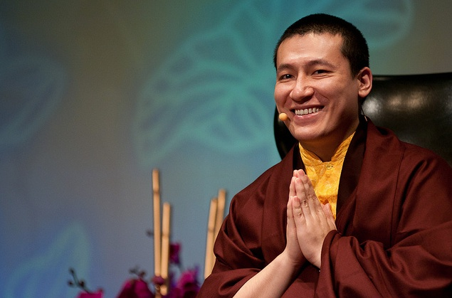 17th Karmapa Trinley Thaye Dorje (Photo: Matt Balara)